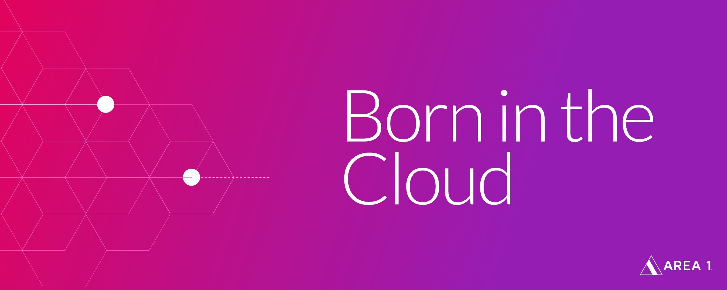 Born in the cloud