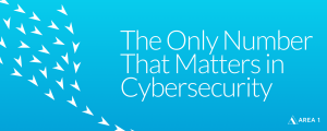 The Only Number that matters in Cybersecurity